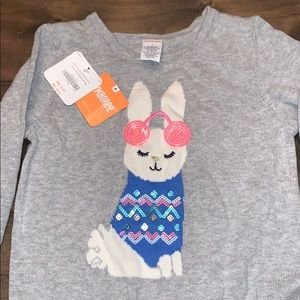 Gymboree Girls 8 Bunny Sequin Sweater Dress!